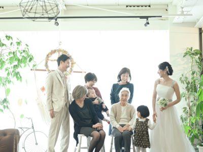 楽しく家族撮影
